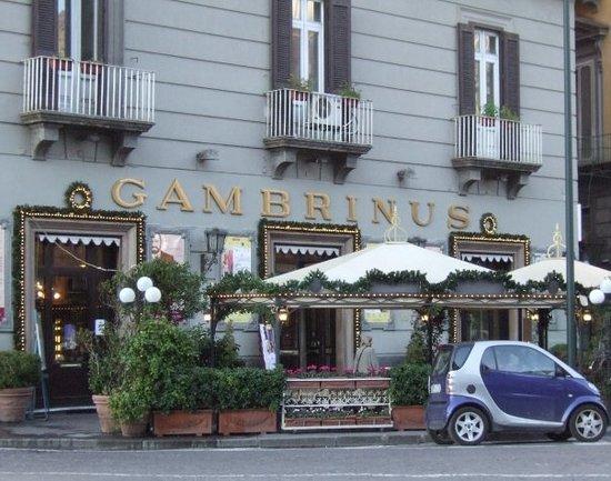 Caffè Gambrinus a Napoli.