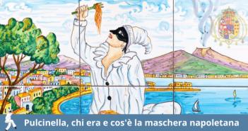 Pulcinella maschera napoletana famosa nel mondo.
